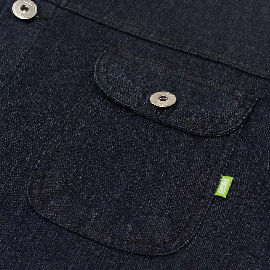 Jaqueta High Jeans Jacket Mage Black