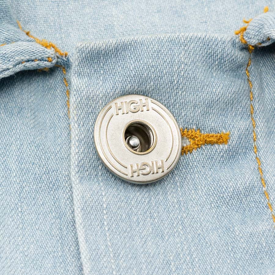 Jaqueta High Jeans Jacket Mage Blue