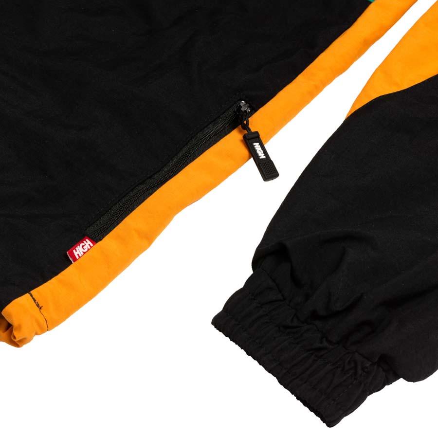 Jaqueta High Quarter Zip Block Orange