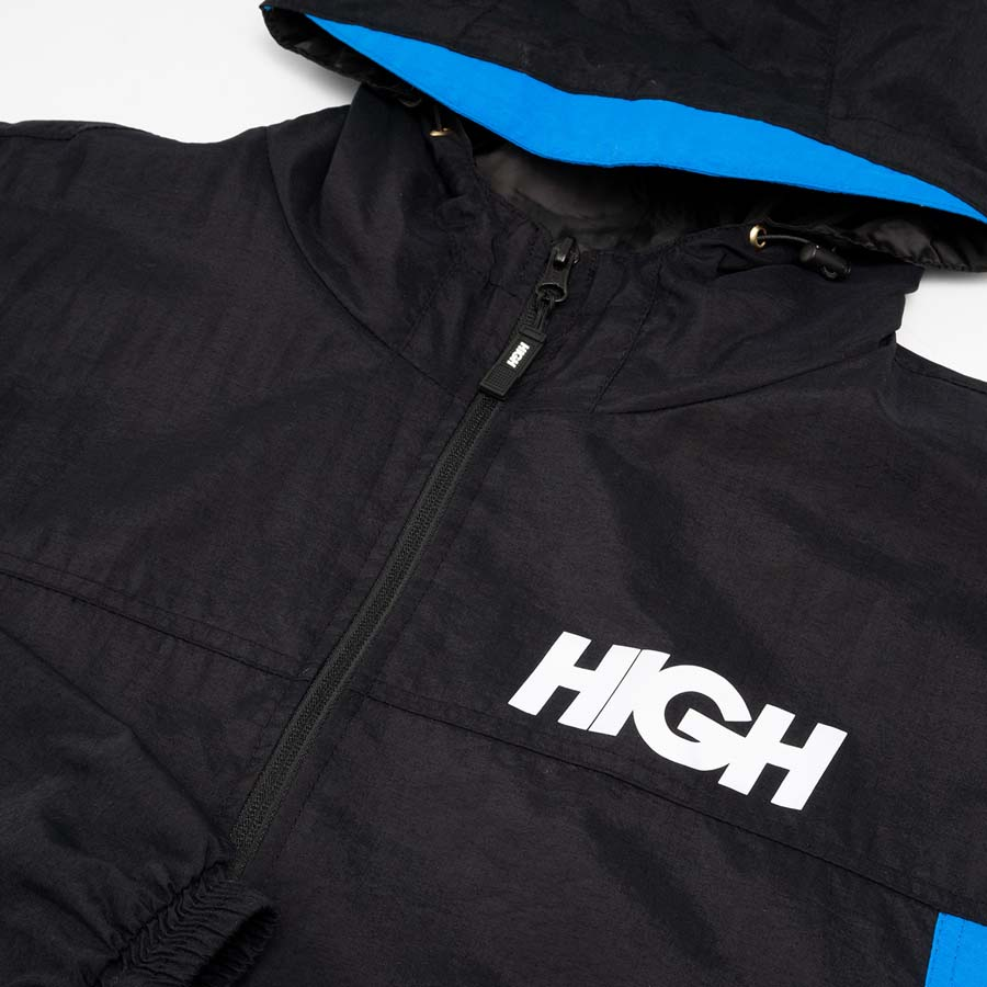 Jaqueta High Rain Jacket Black/Blue