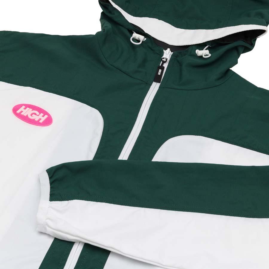 Jaqueta High Rain Jacket White/Green
