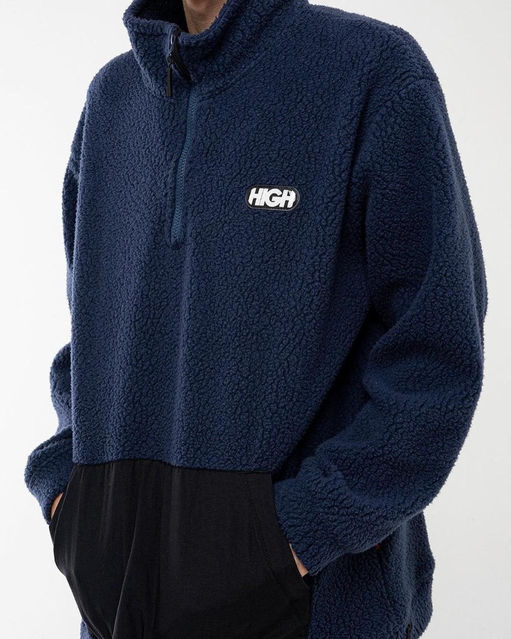 Jaqueta High Sherpa Fleece Jacket Navy