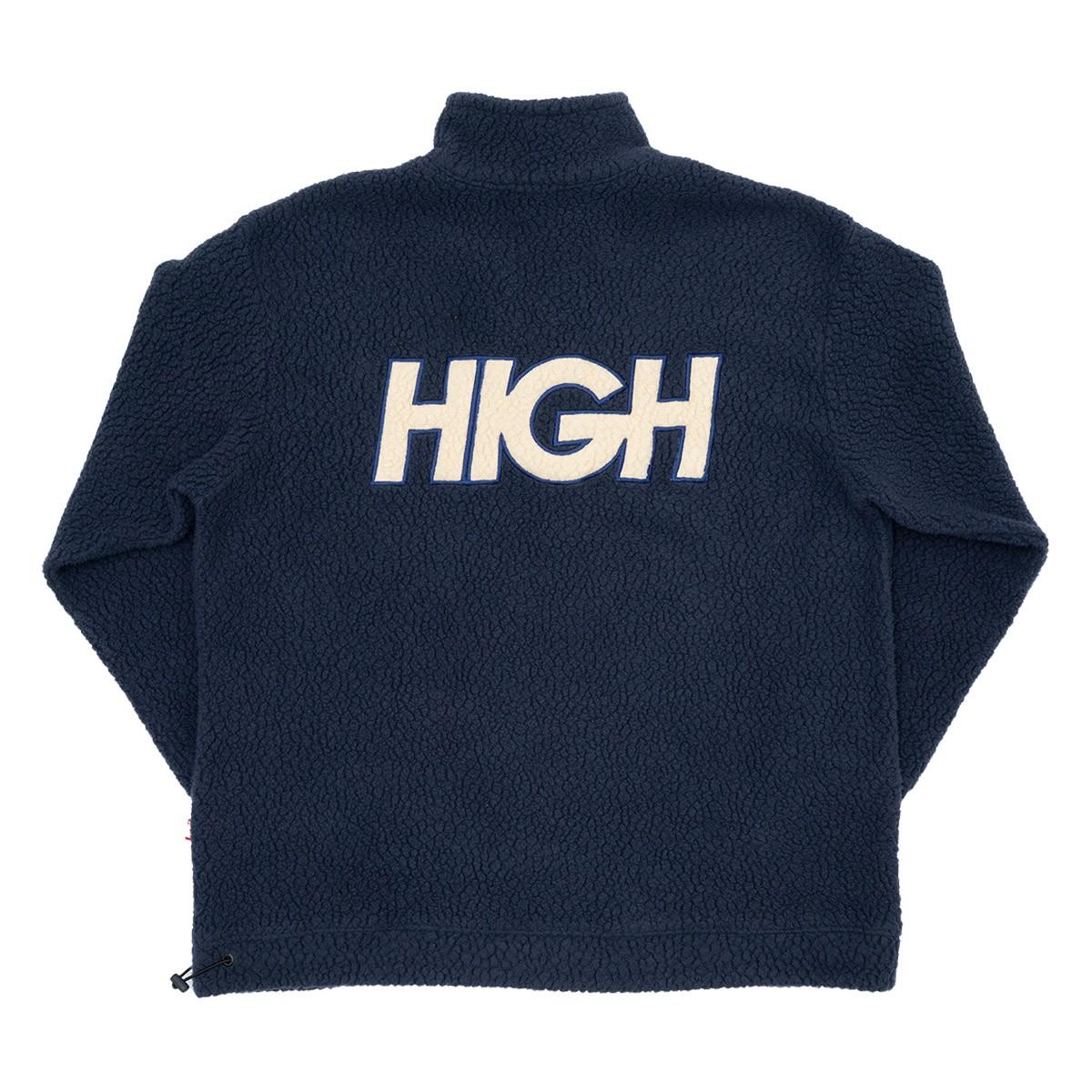 Jaqueta High Sherpa Fleece Jacket Navy