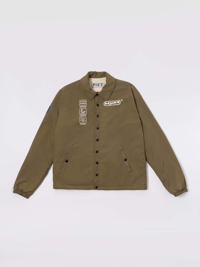 Jaqueta PIET HYOH Coat Jacket Khaki