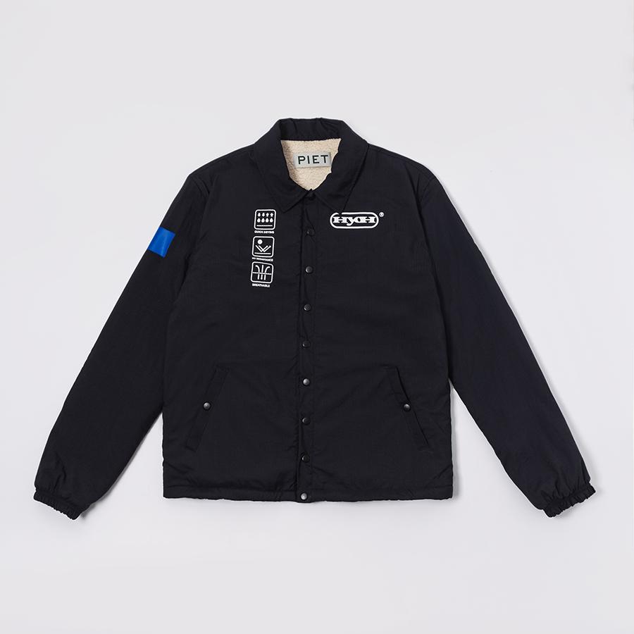 Jaqueta PIET HYOH Coat Jacket Preto