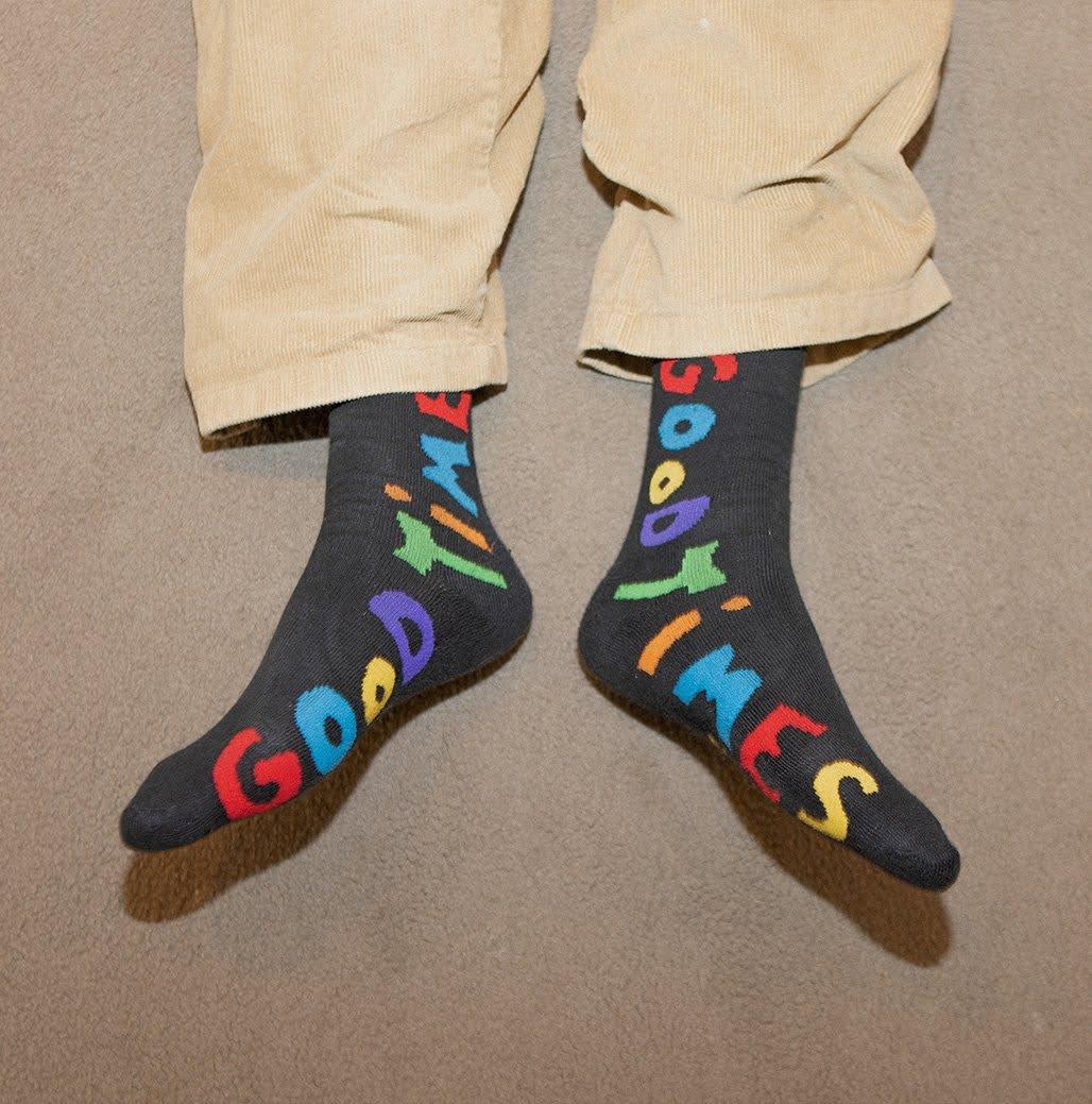 Meia Bolovo Cool Kids Socks Preta