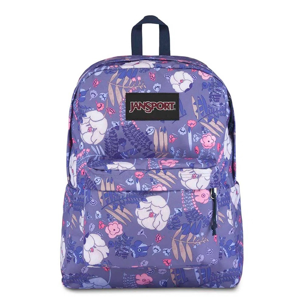 Mochila Jansport Black Label Superbreak Blue Liana Vines