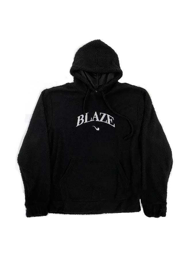 Moletom Blaze Fleece Hoodie College Black