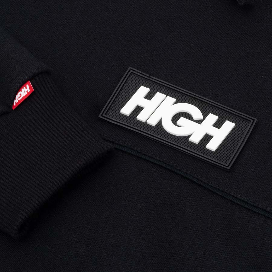 Moletom High Block Hoodie Black