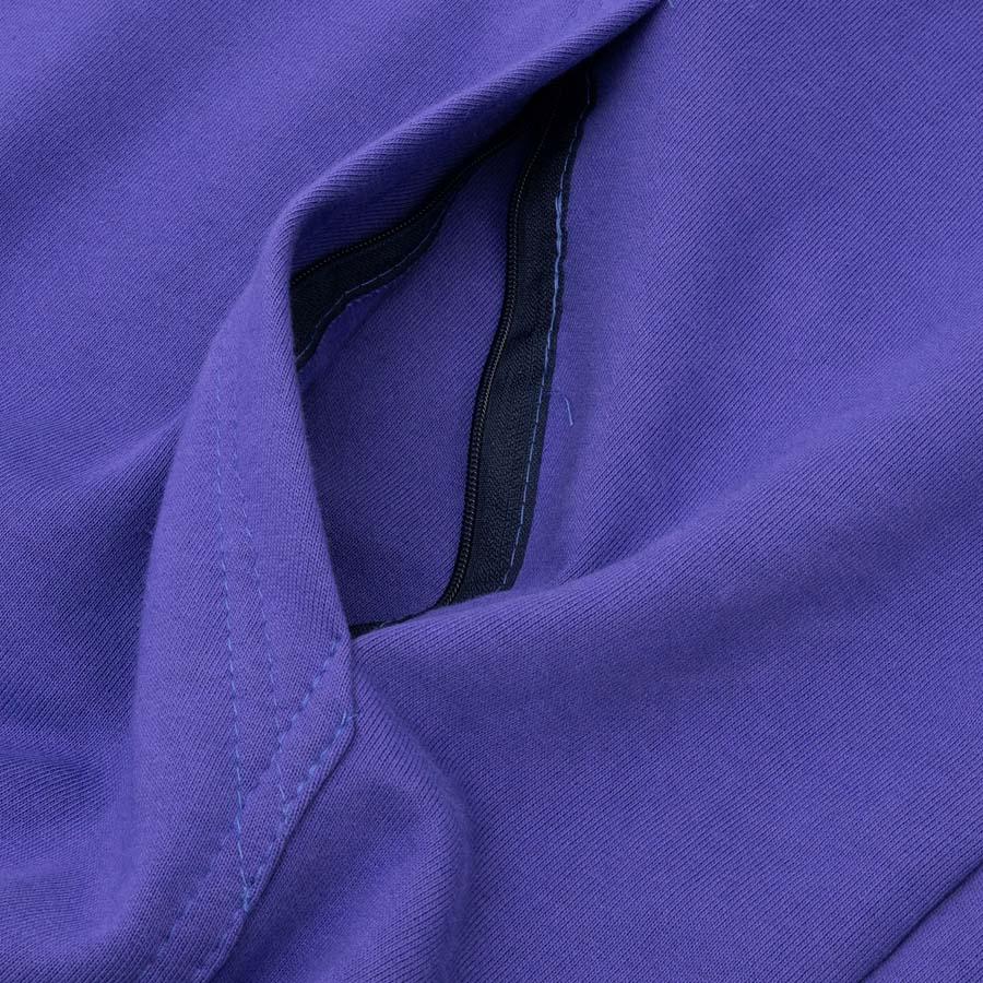 Moletom High Block Hoodie Navy Purple