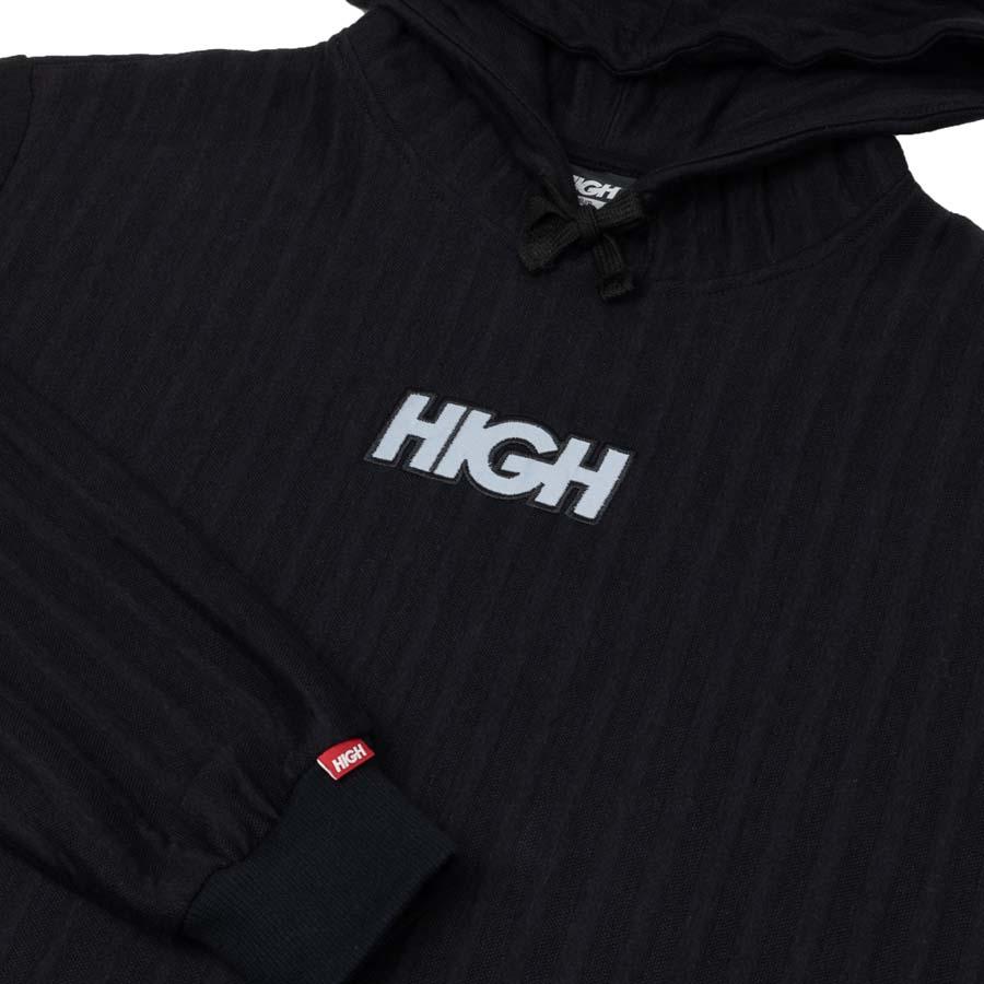 Moletom HIGH Boss Hoodie Logo Black