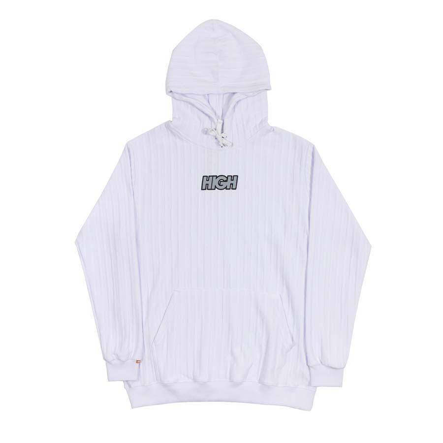 Moletom HIGH Boss Hoodie Logo White