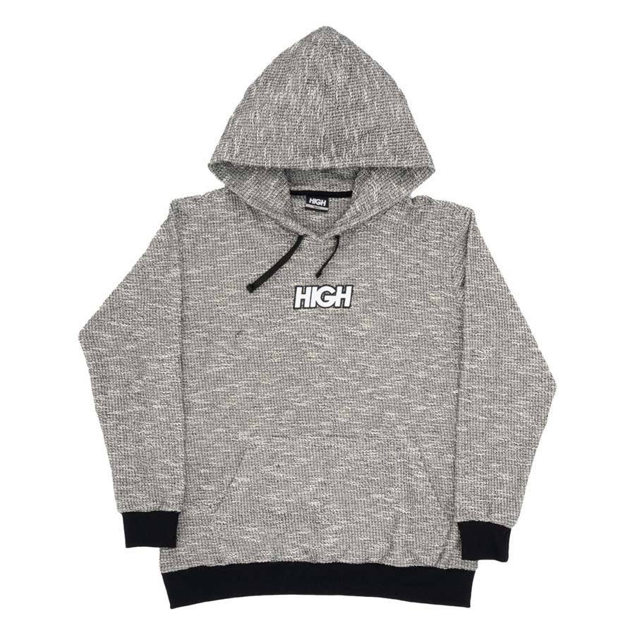 Moletom High Fleece Hoodie Heater Black