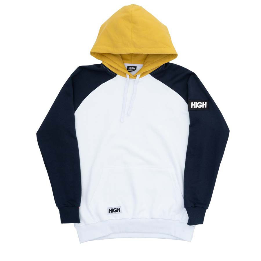 Moletom High Hoodie Big Patch White
