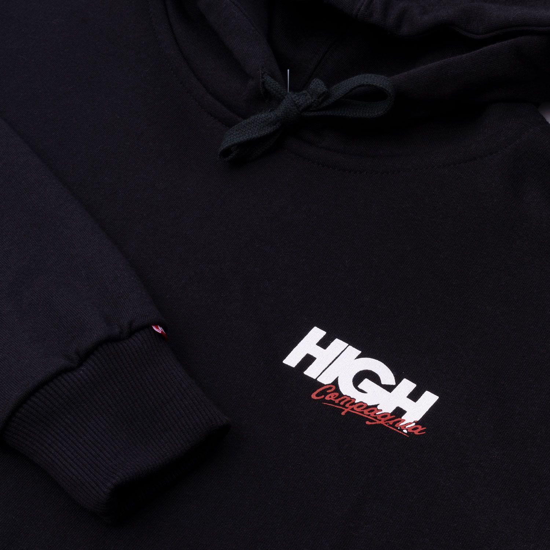 Moletom High Hoodie Compagnia Black