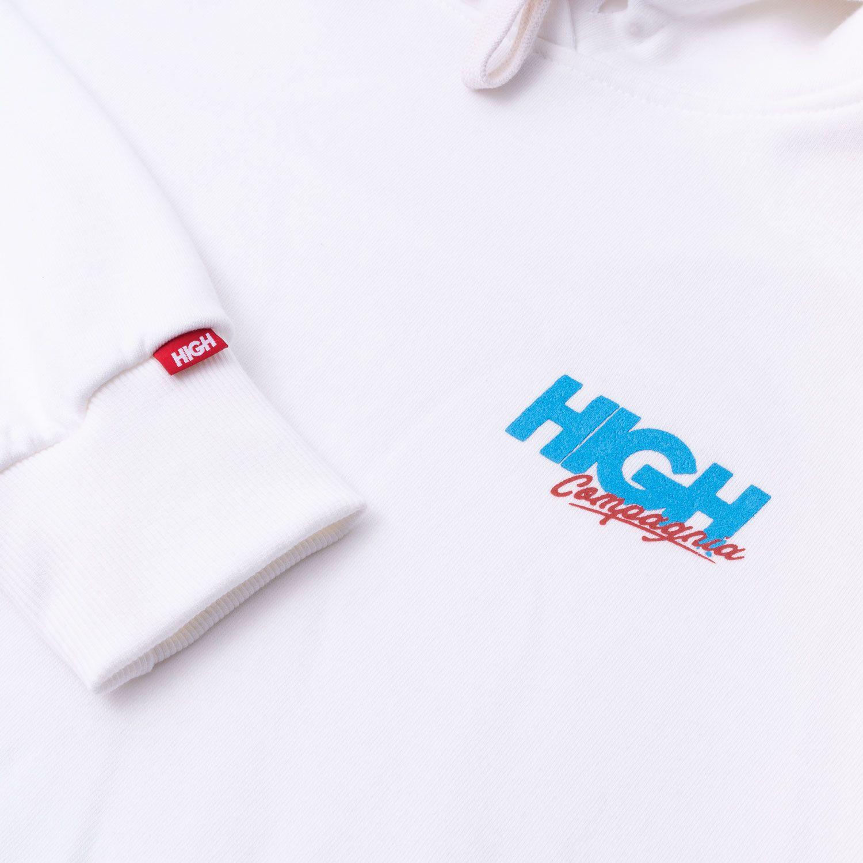 Moletom High Hoodie Compagnia White