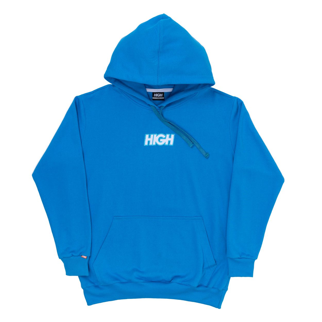 Moletom High Hoodie Logo Blue White