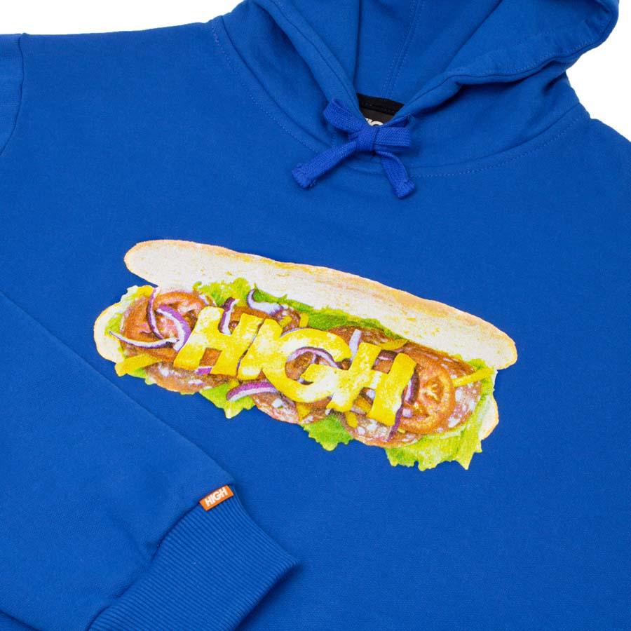 Moletom HIGH Hoodie Sandwich Blue