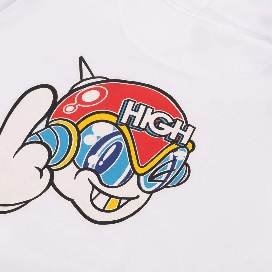 Moletom High Hoodie Space G White