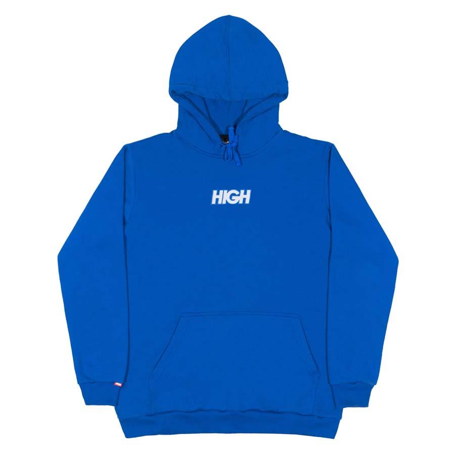 Moletom High Reflective Hoodie Logo Blue