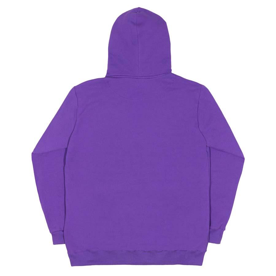 Moletom High Reflective Hoodie Logo Purple