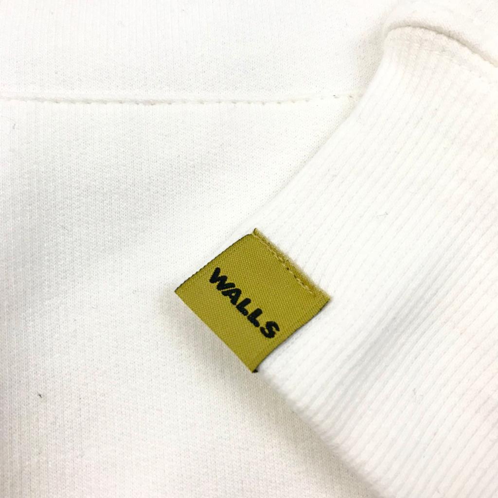 Moletom WALLS College Off White