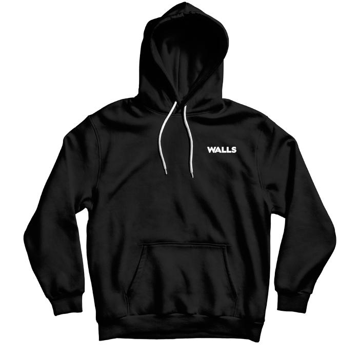 Moletom WALLS Heart Black