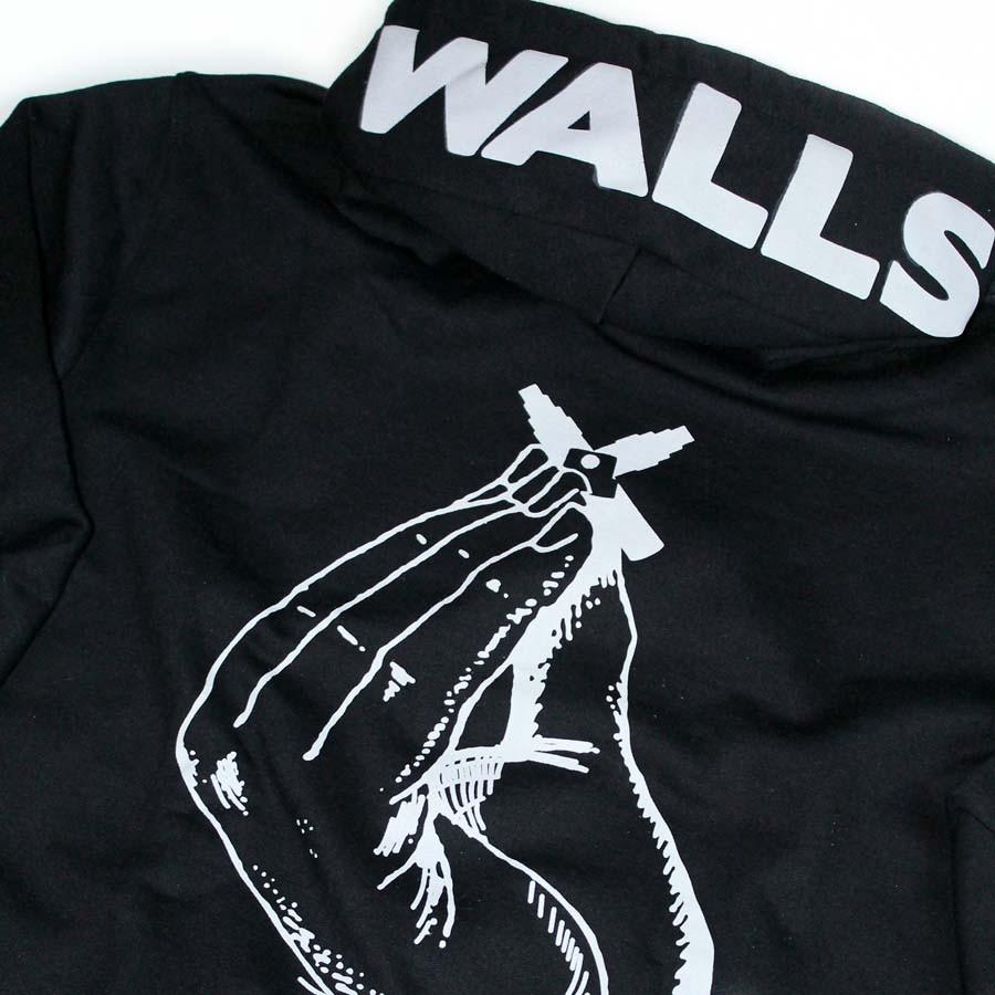 Moletom Walls Indignato Black
