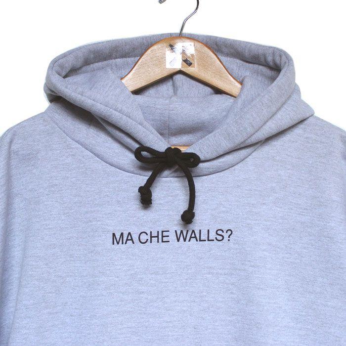 Moletom Walls Indignato Mescla