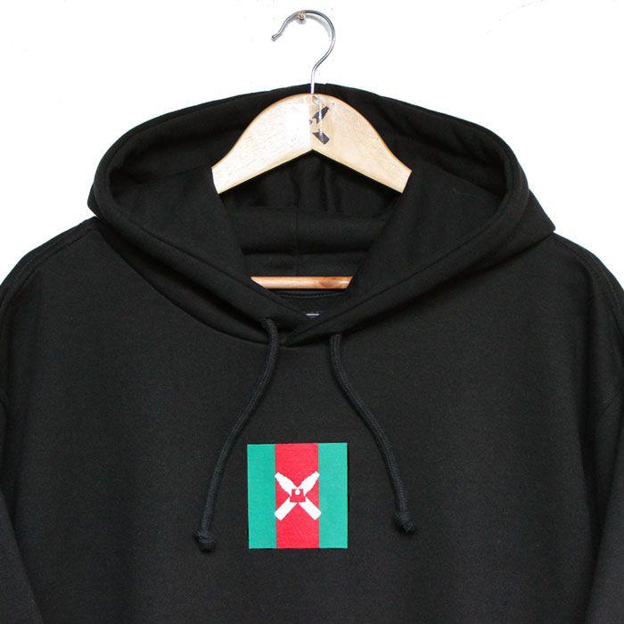 Moletom Walls Square Logo Gucci Black