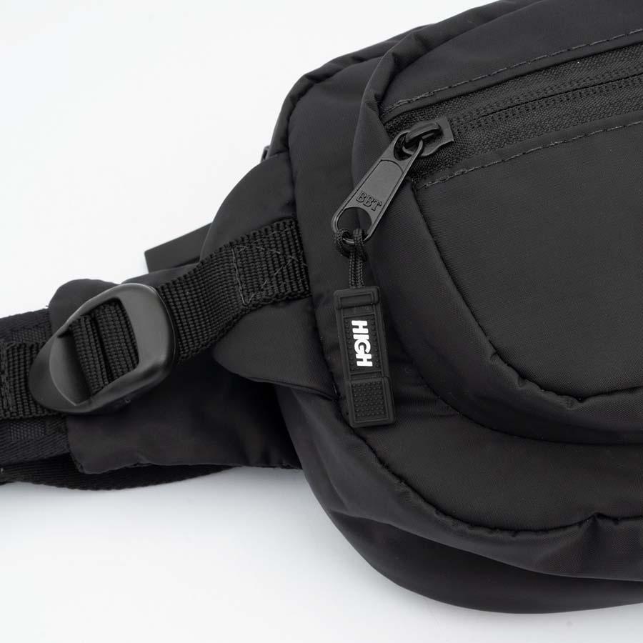 Pochete High Runner Waist Bag Black/Purple