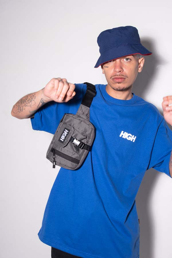 Pochete High Waist Bag Grey