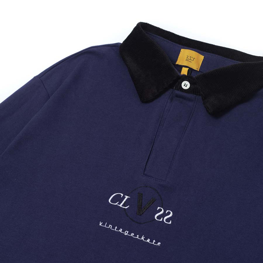 Polo Rugby Class x Vintageskate Navy/Black