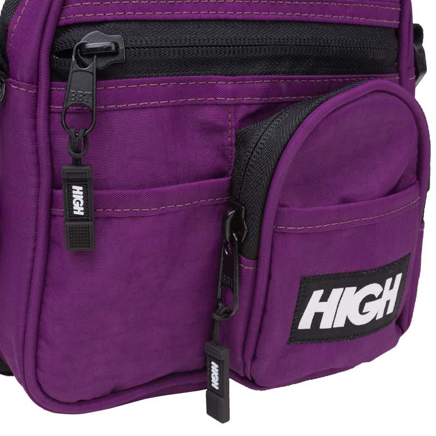 Pouch Bag High Logo Purple