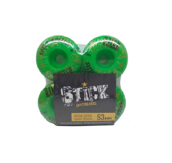 Rodas Stick 53mm 92A Verde