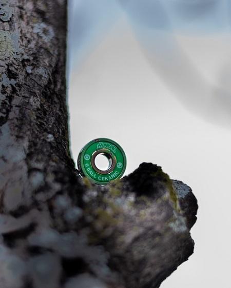 Rolamento Hondar Ceramic 6 Ball Verde