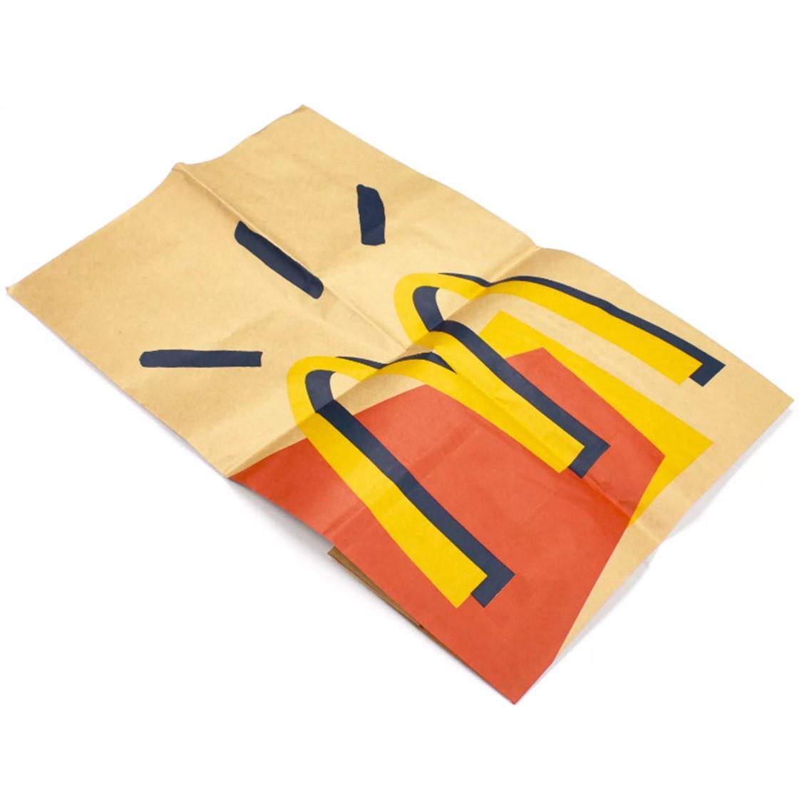 Saco de Papel Travis Scott x McDonald's