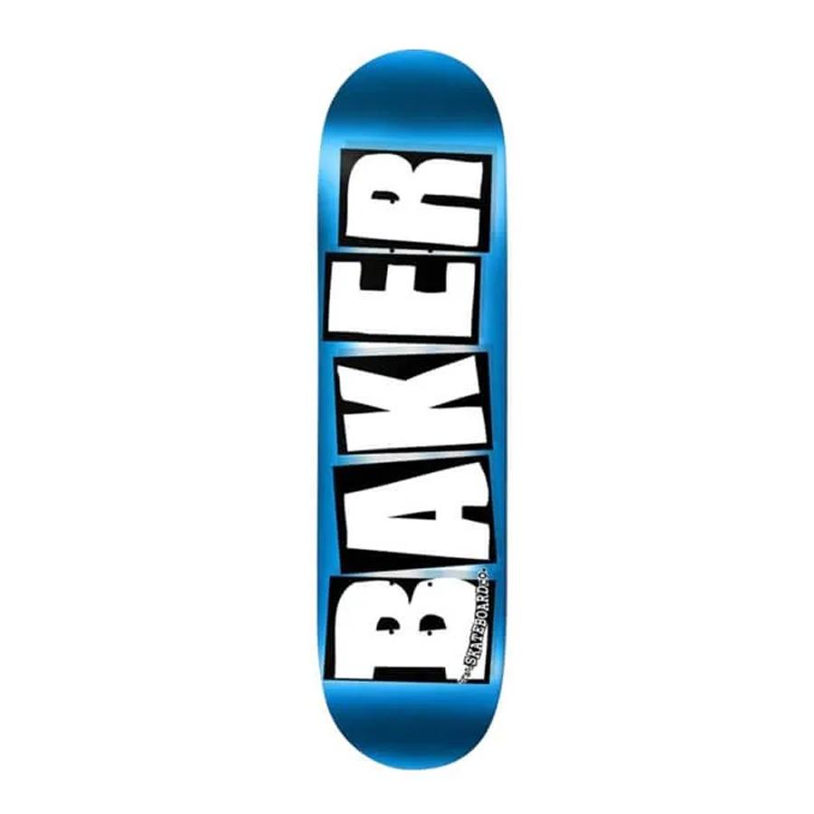 Shape Maple Baker Brand Logo Foil Blue