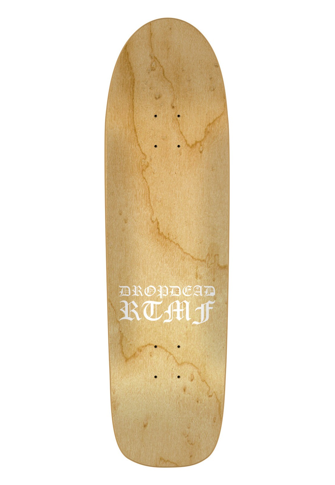 Shape Maple Old Skull Drop Dead RTMF