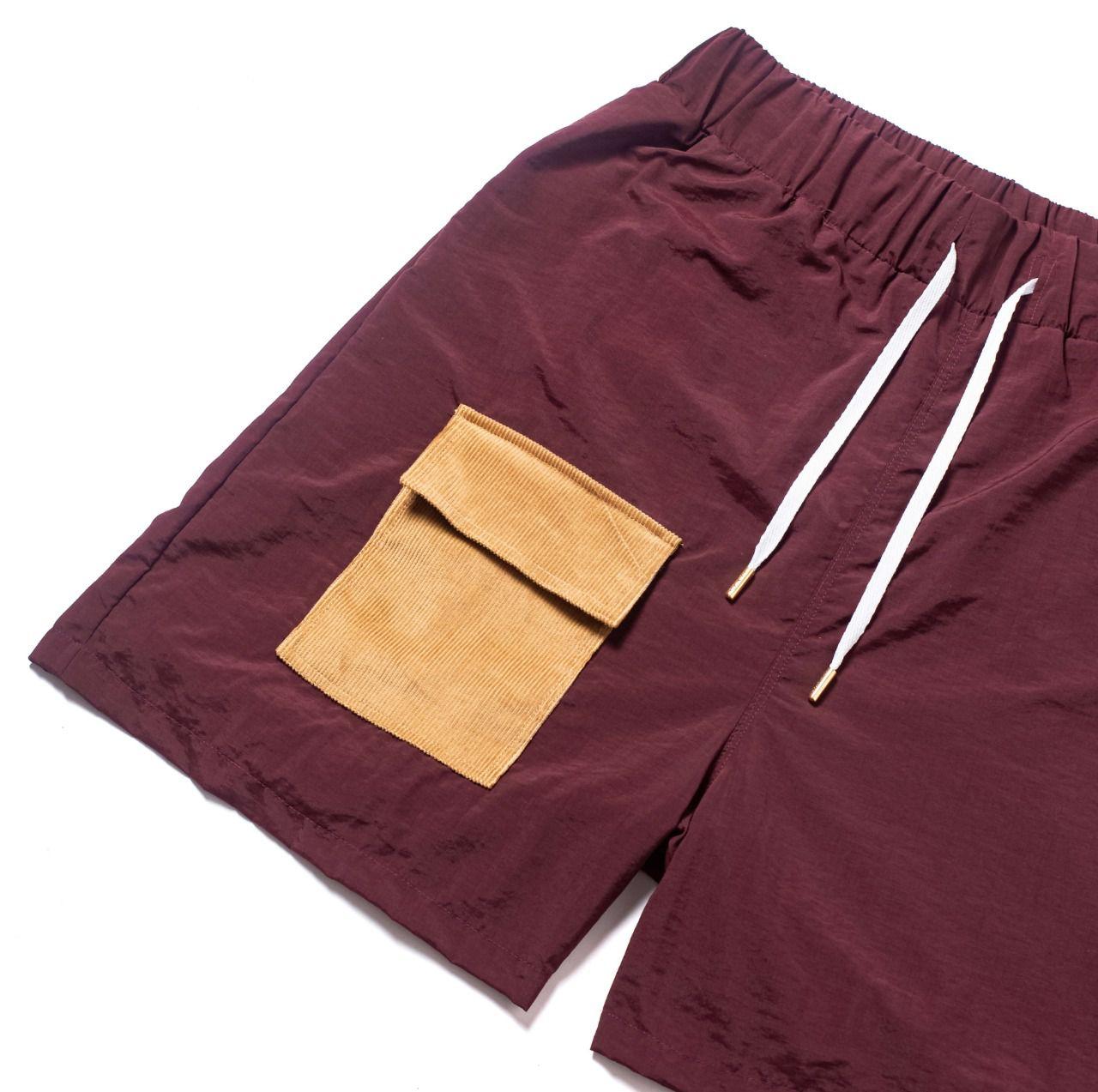 Shorts CLASS Cargo Burgundy