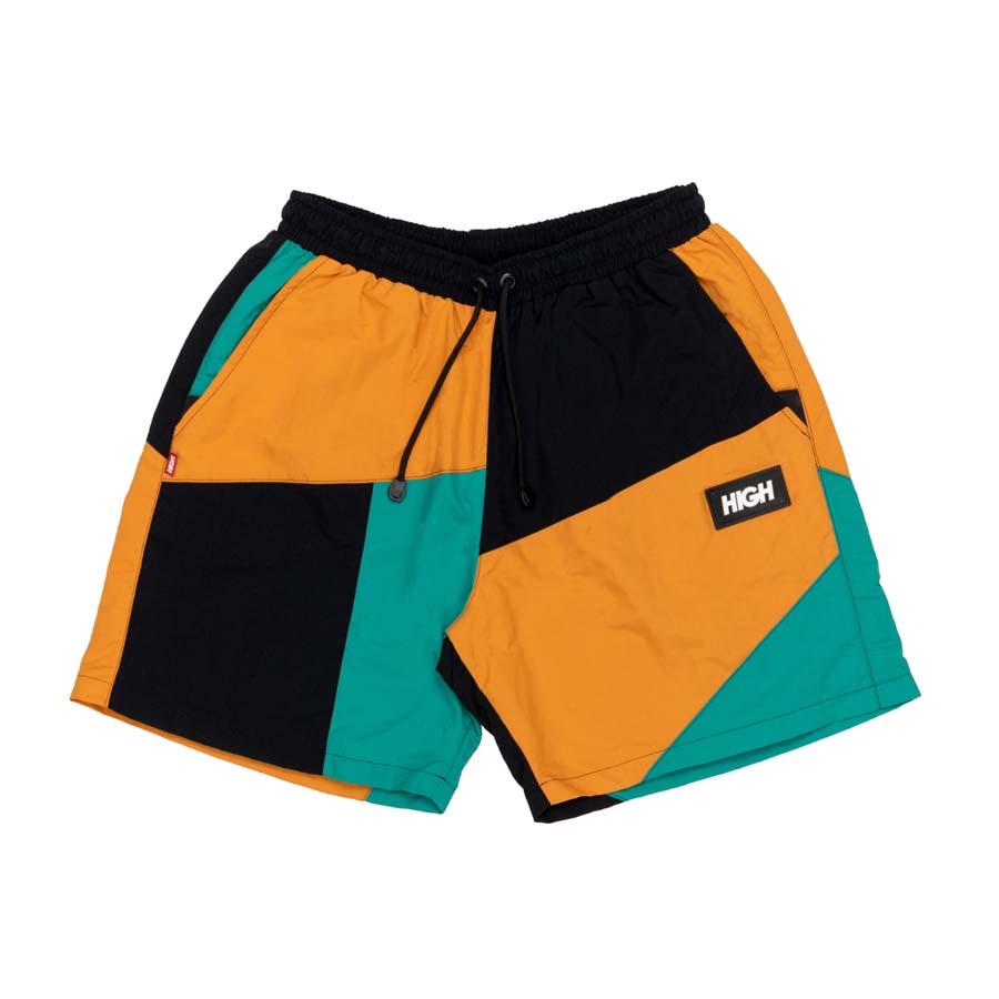 Shorts High Block Shorts Yellow