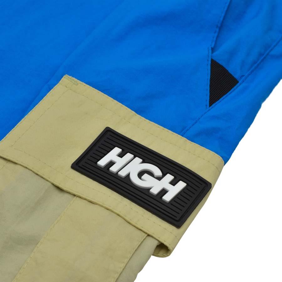 Shorts High Cargo Shorts Beige/Blue