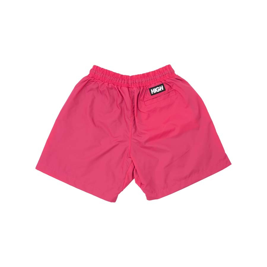 Shorts High Diagonal Shorts Pink Wine