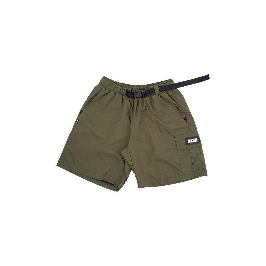 Shorts High Ripstop Cargo Green