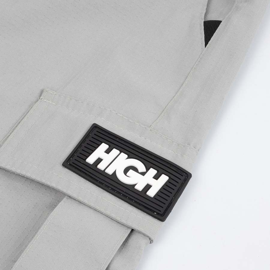 Shorts High Ripstop Cargo Grey