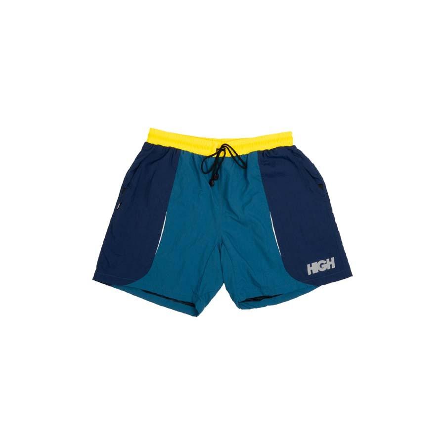 Shorts High Track Yellow/Navy