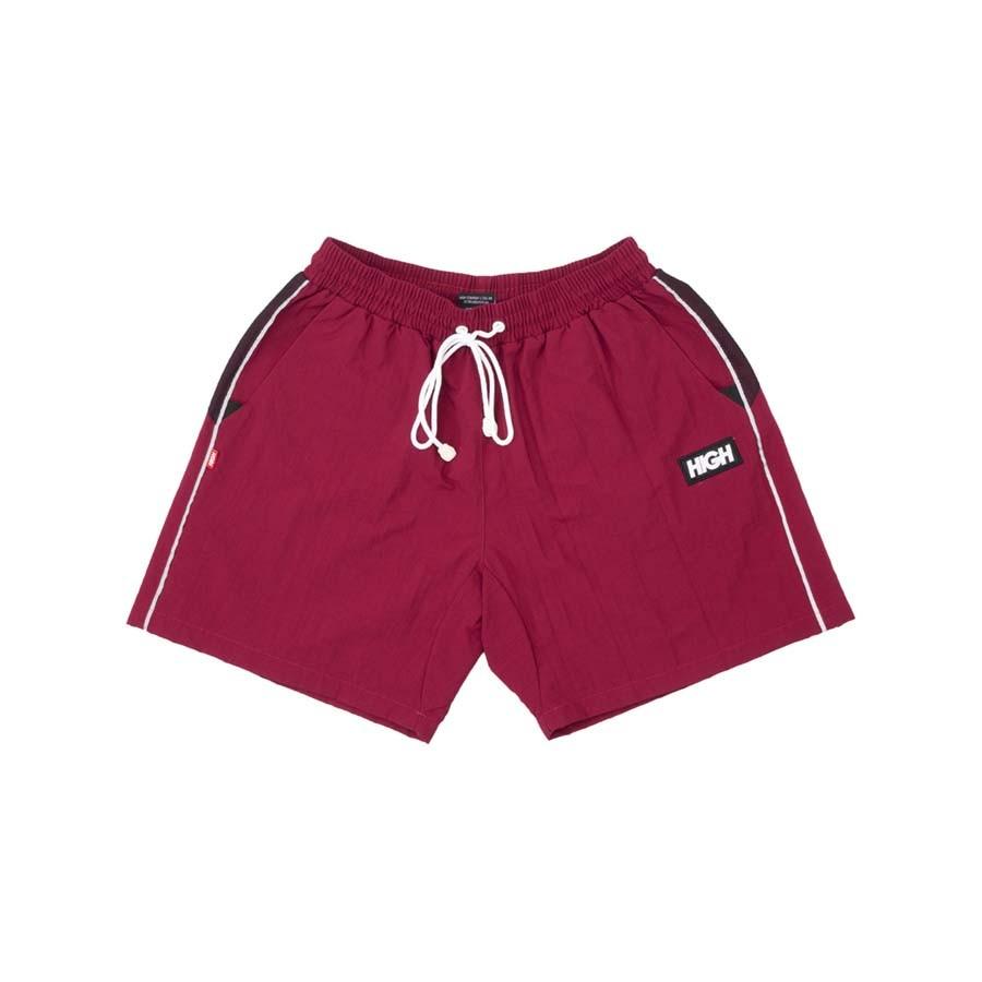 Shorts High Sport Shorts Wine