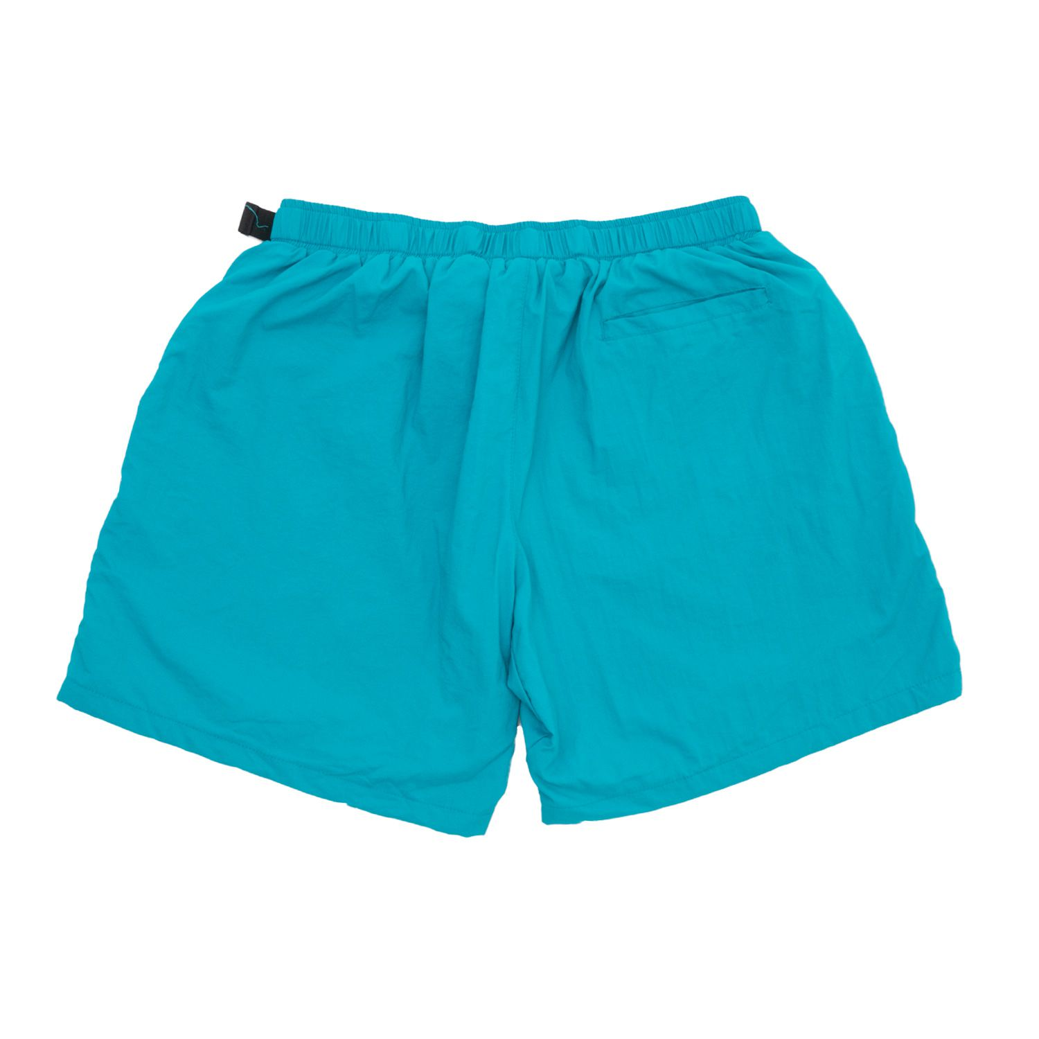 Shorts High Strapped Logo Pool Green