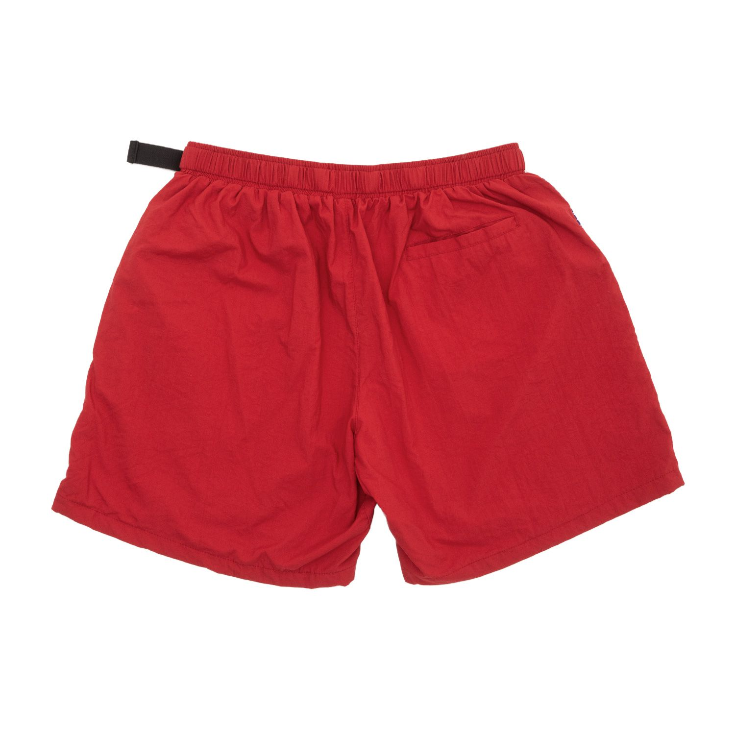 Shorts High Strapped Logo Red