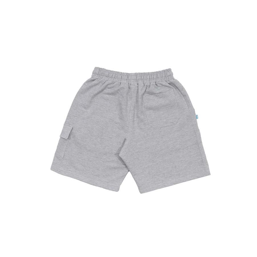 Shorts High Sweat Cargo Shorts Heather Grey